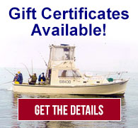 Gift Certificates for Saltwater Fishing Adventures