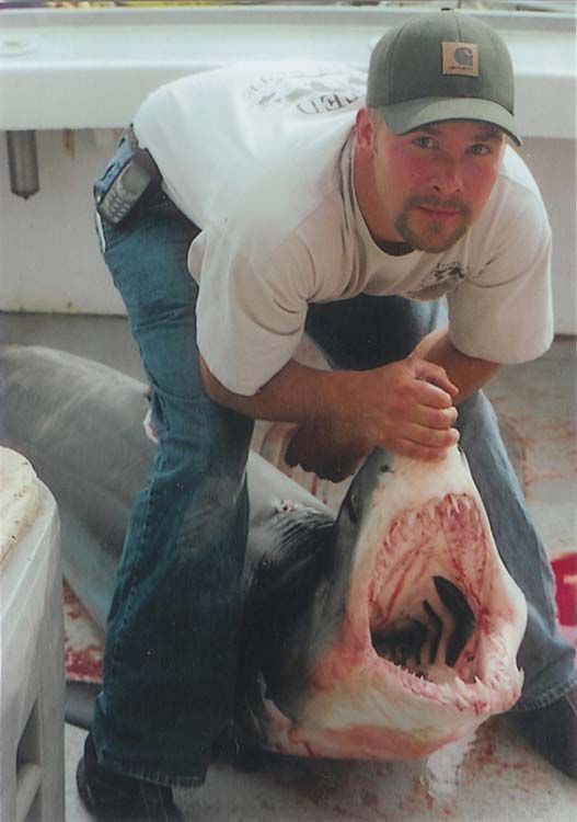 Fishing for Mako sharks is most common in late July, August, September...