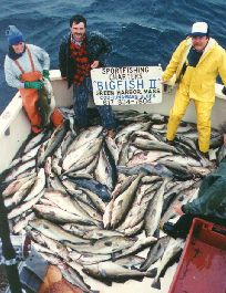 Cod Fishing on the Stellwagen Bank in Massachusetts