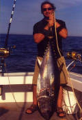 Tuna caught in Cape Cod Bay