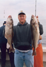 Multiple catches on deep sea fishing trip