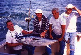 Tuna fishing charters enjoy catching tuna fish off the for Cape cod fishing party boats